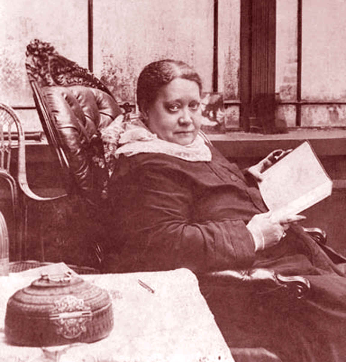 H.P. Blavatsky in 1887