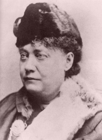 H.P. Blavatsky in 1878