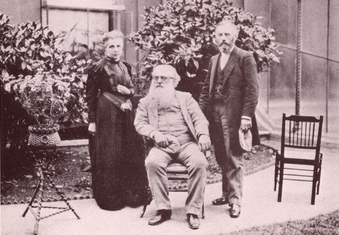 Annie Besant, Henry S. Olcott and William Q. Judge, London, July 1891