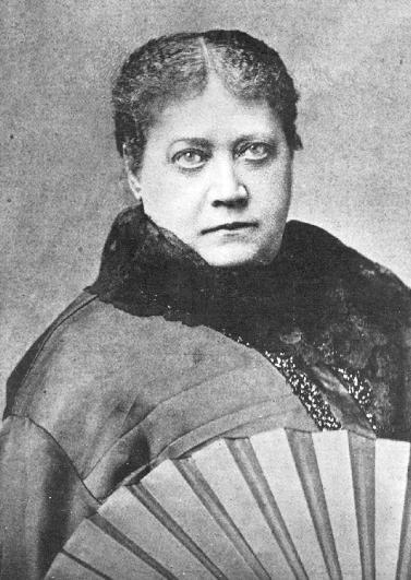 HP Blavatsky in 1884