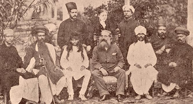 Theosophical Society Convention, Bombay, 1881.