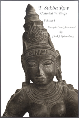 T. Subba Row Collected Writings